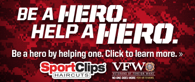 Sport Clips Haircuts of St. Petersburg ​ Help a Hero Campaign